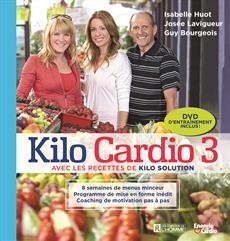 Kilo Cardio 3 - Avec les recettes de Kilo Solution