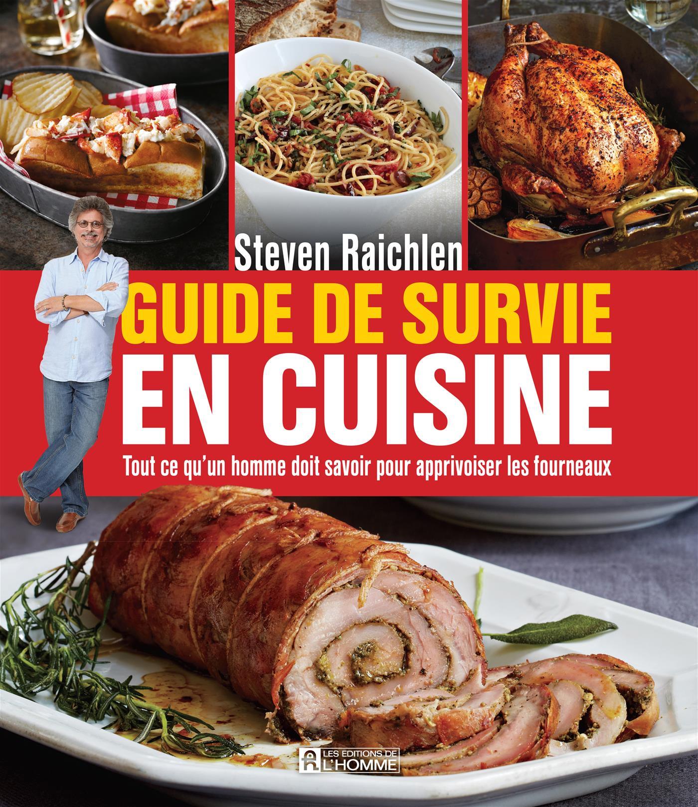 livre guide de survie en cuisine tout ce qu 39 un homme. Black Bedroom Furniture Sets. Home Design Ideas