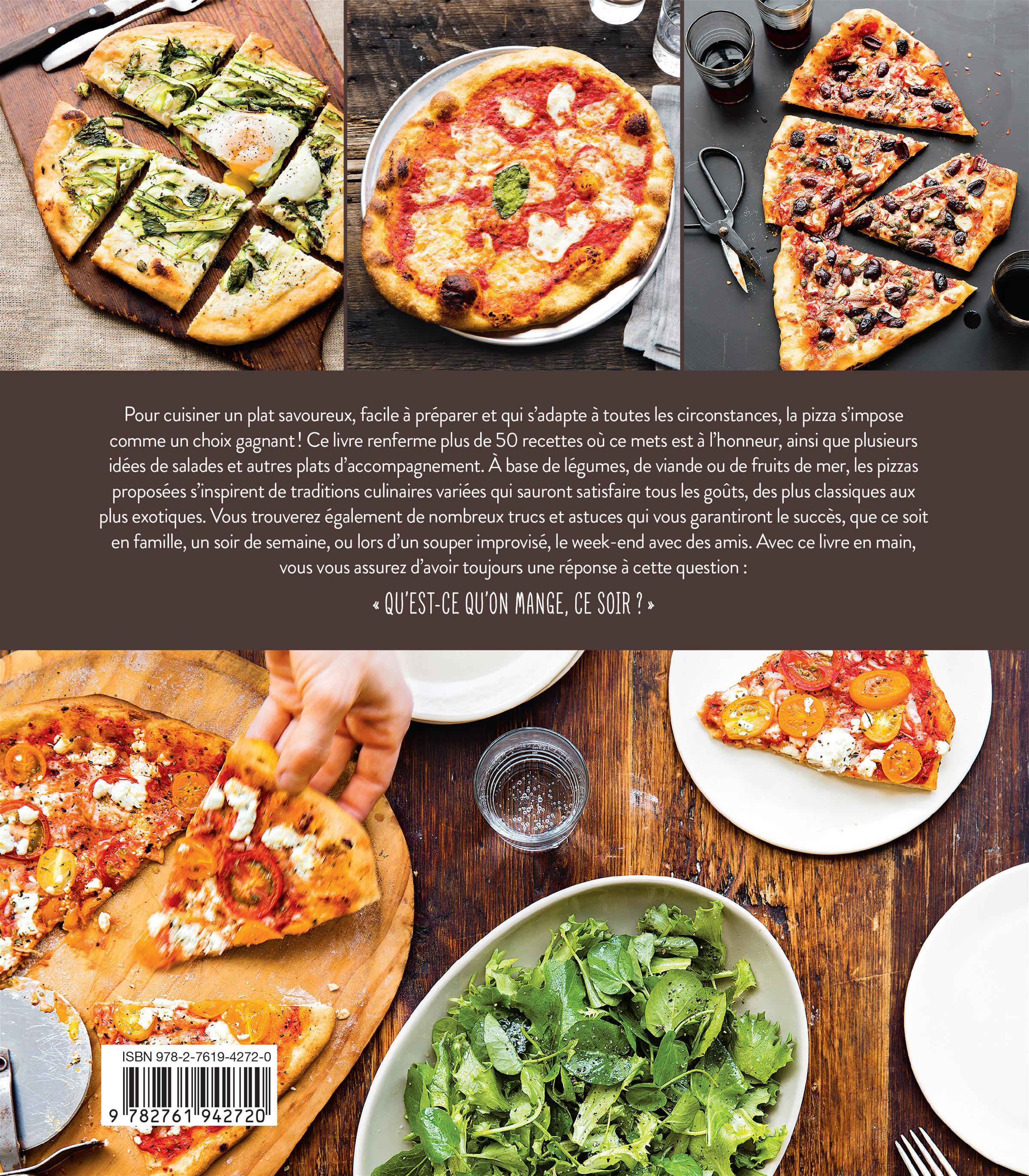Livre ce soir c 39 est pizza des recettes pour tous les - Livre de cuisine facile pour tous les jours ...