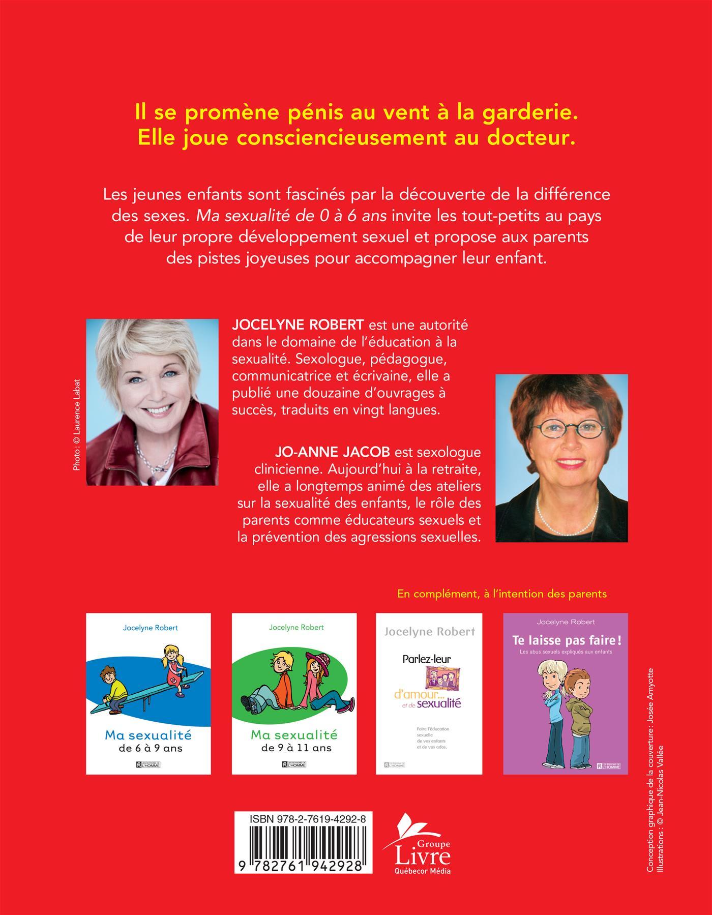 Livre Ma Sexualité De 0 à 6 Ans Les éditions De Lhomme