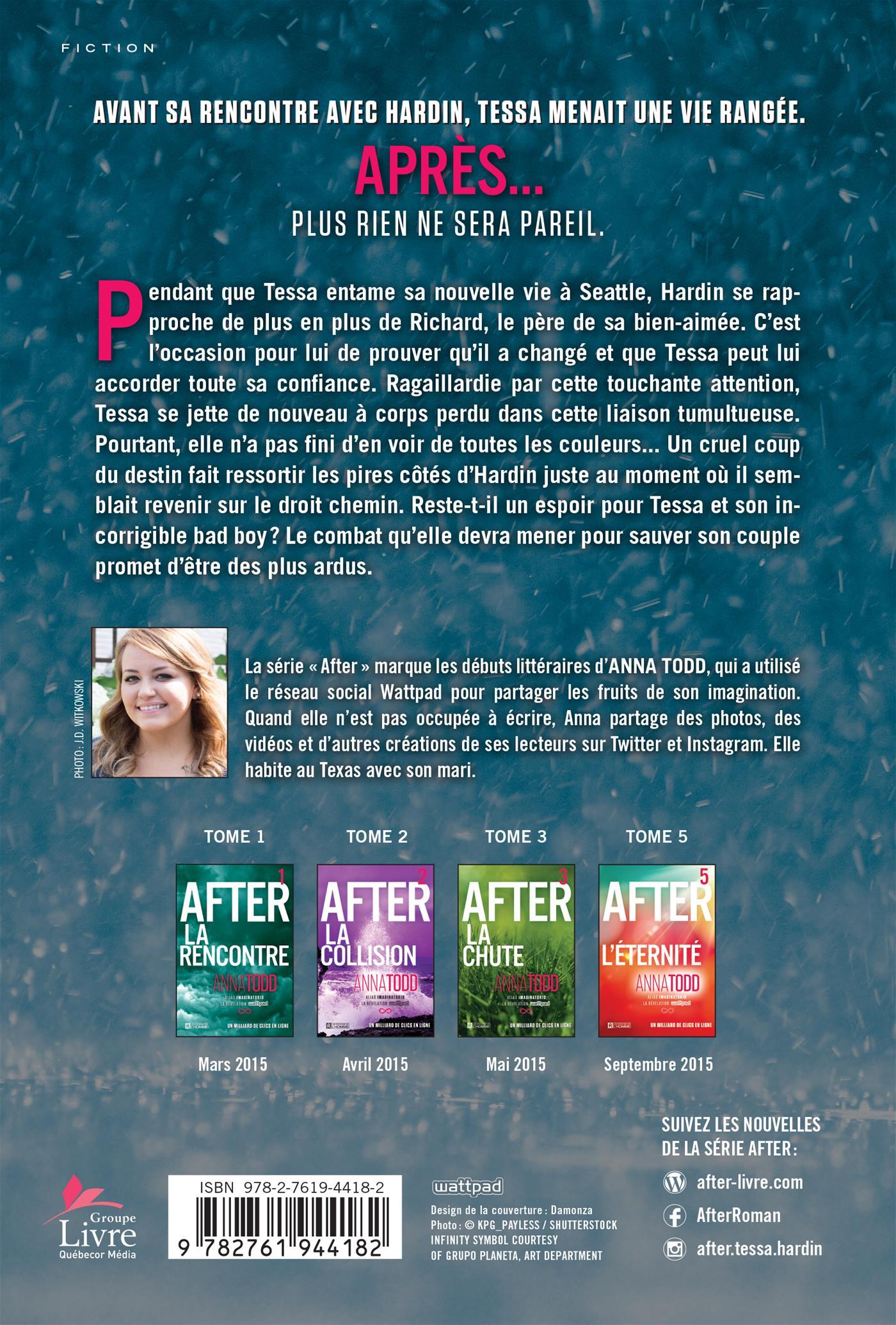 Livre After Tome 4 Le Manque Les Editions De L Homme