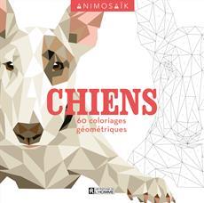 Animosaïk - Chiens - 60 coloriages géométriques