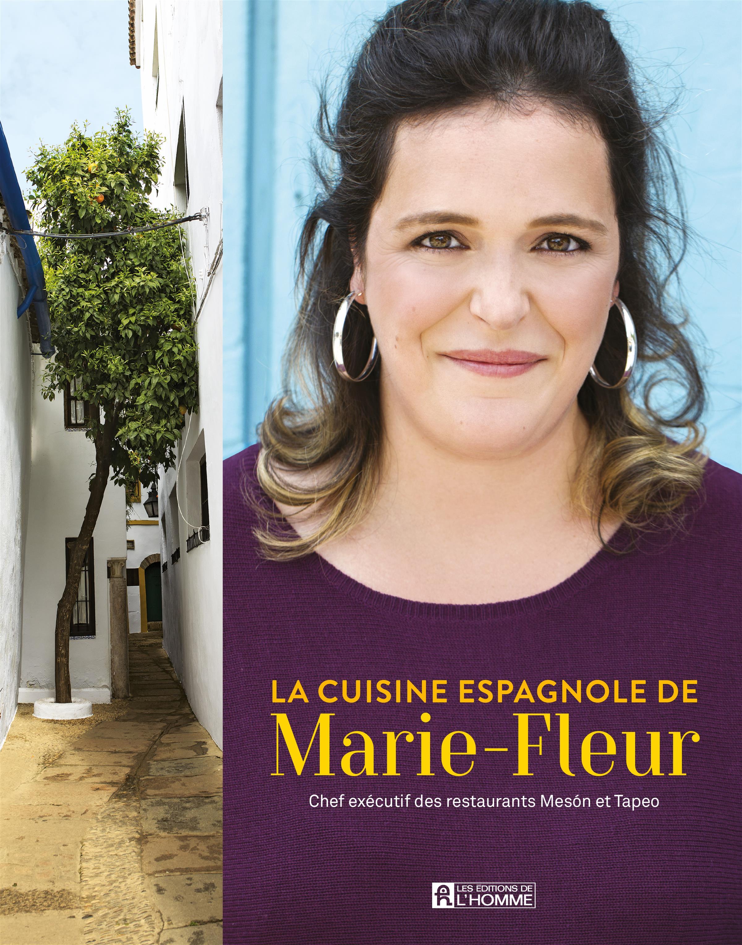 livre la cuisine espagnole de marie fleur messageries adp. Black Bedroom Furniture Sets. Home Design Ideas