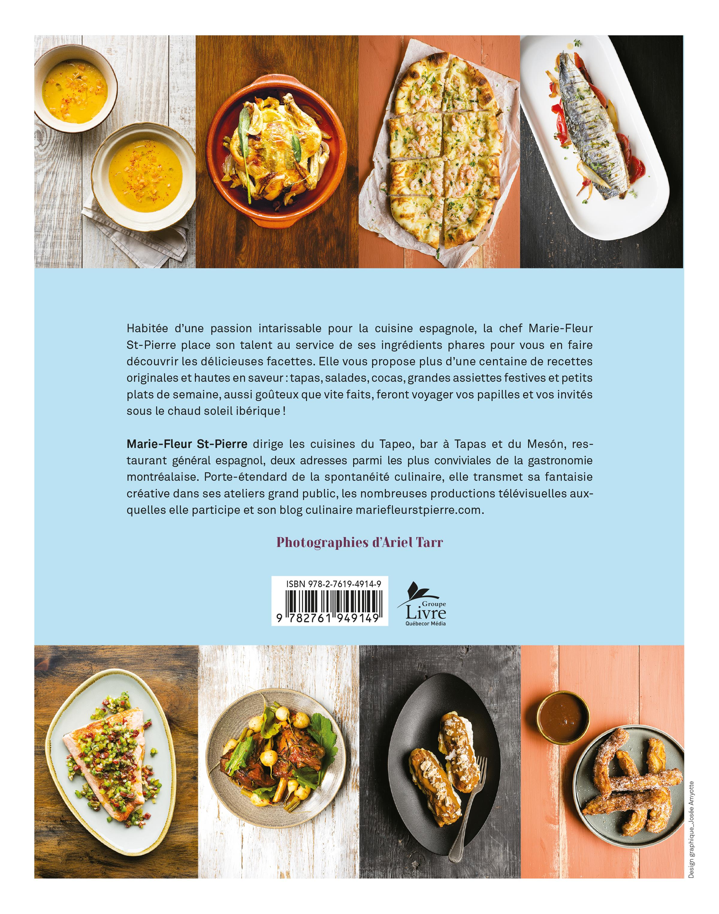 Livre la cuisine espagnole de marie fleur les ditions for La cuisine c est marie