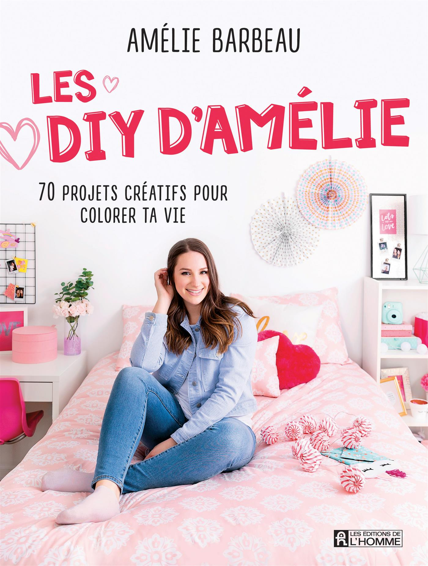 Livre Les Diy D Amelie 70 Projets Creatifs Pour Colorer Ta