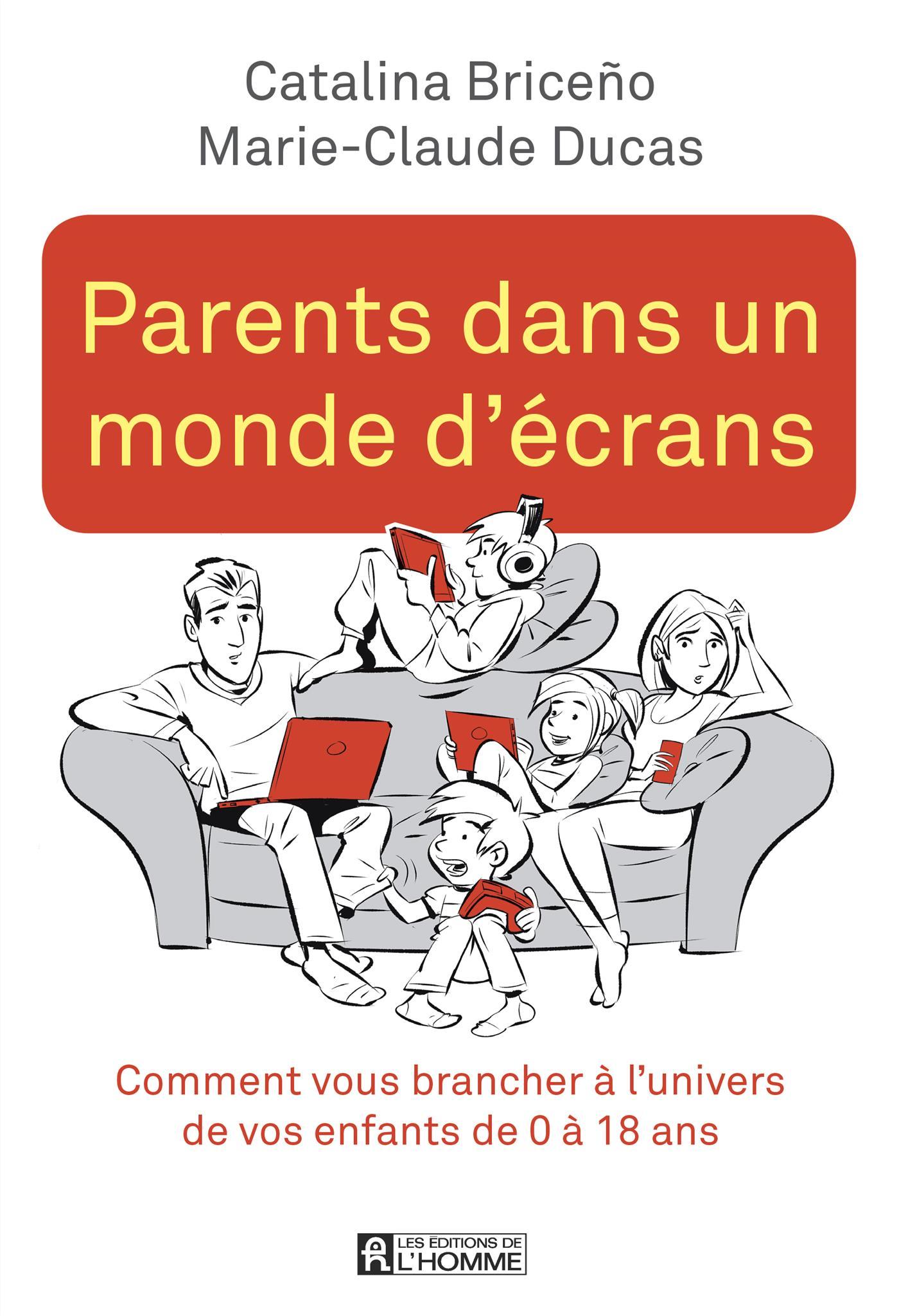 Parents dans un monde d'écrans