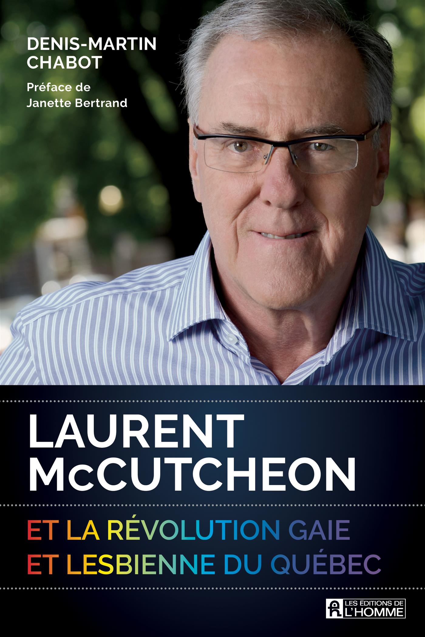 Image de couverture (Laurent McCutcheon et la révolution gaie et lesbienne du Québec)