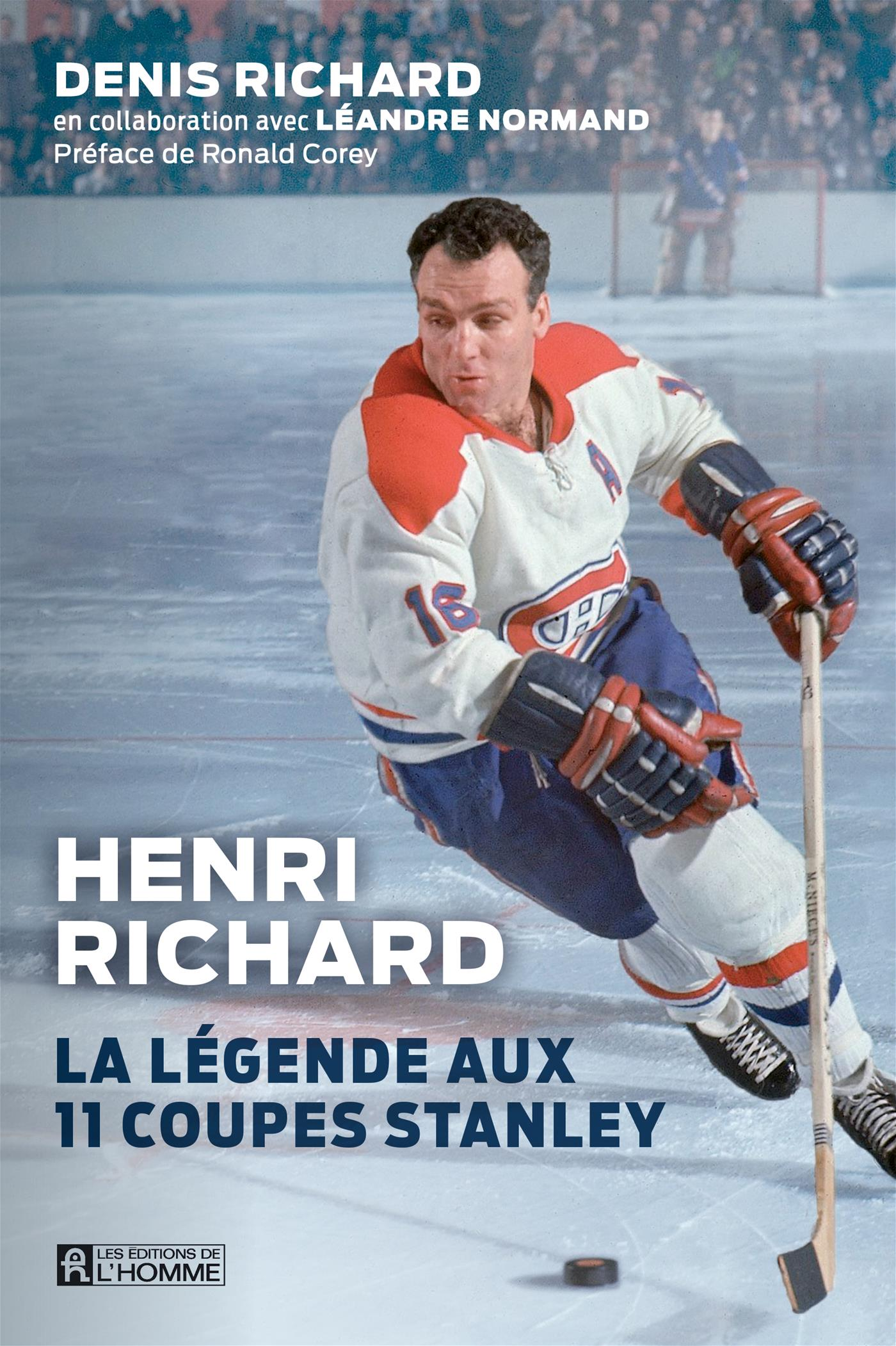 Image de couverture (Henri Richard, La légende aux 11 Coupes Stanley)
