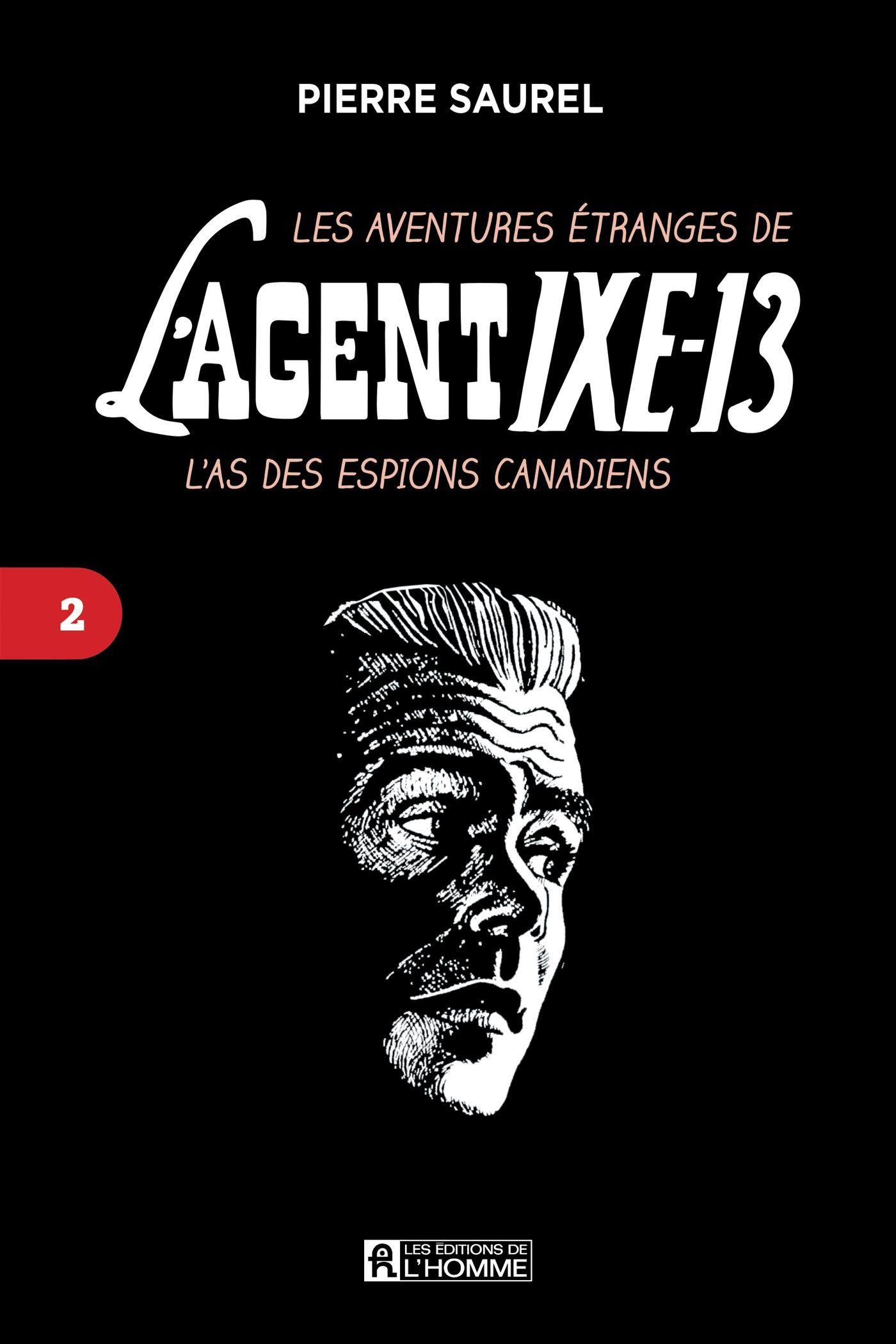 Cover image (Les aventures étranges de l'agent IXE-13 Tome 2)