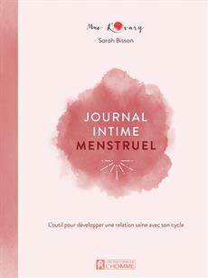 Journal intime menstruel - Pour une relation fluide avec son cycle