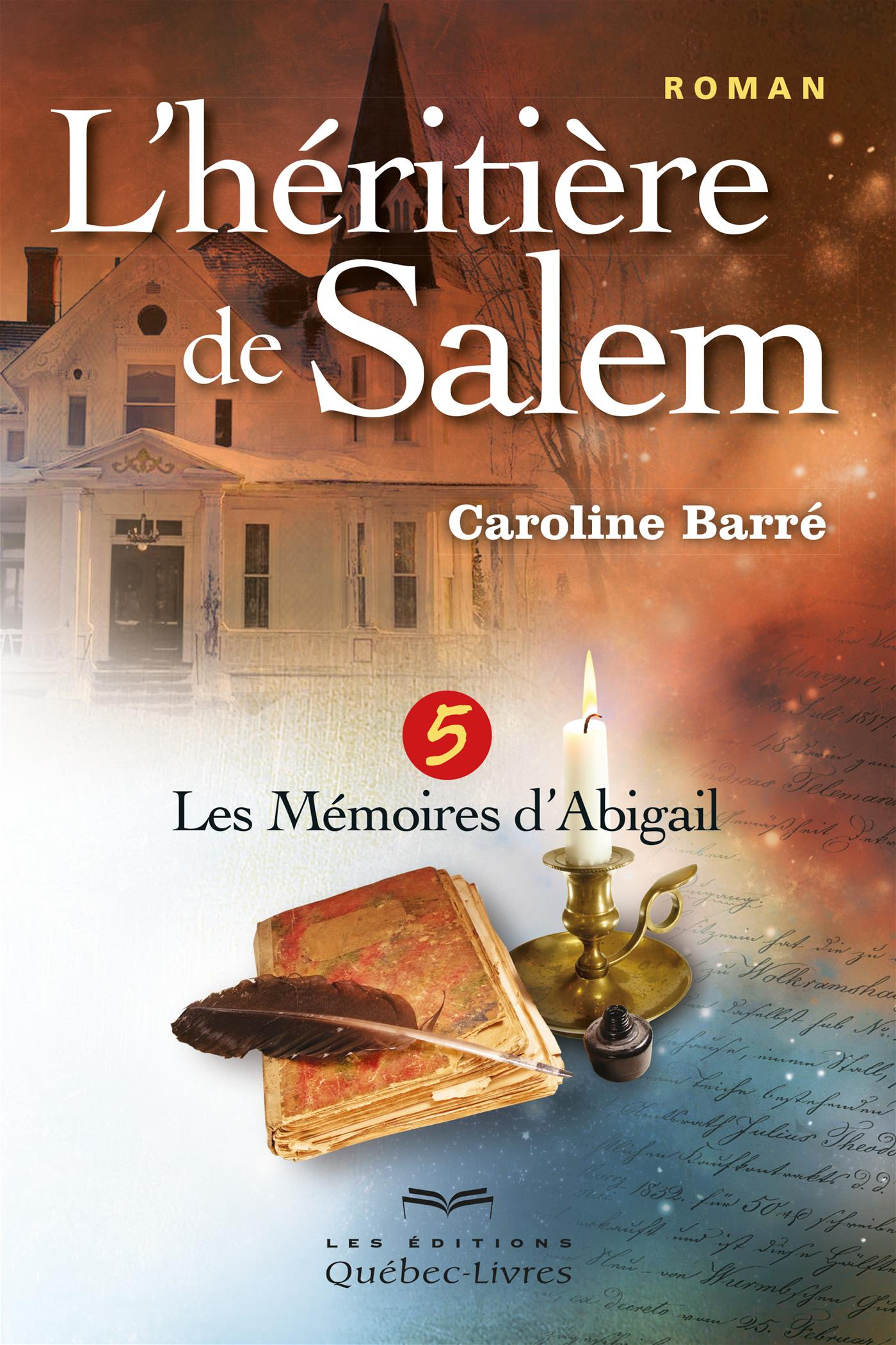 L'héritière de Salem - Tome 5