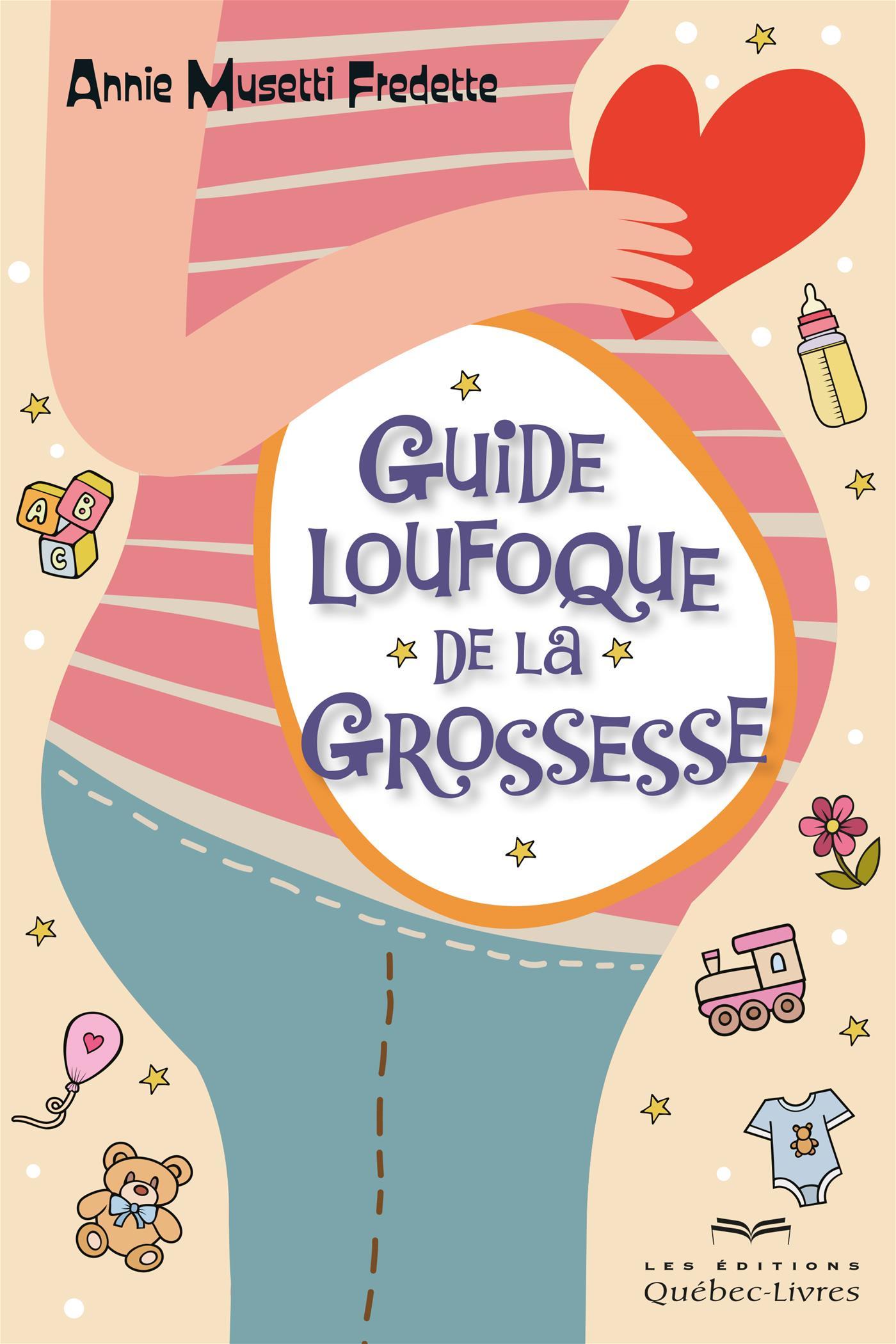 Image de couverture (Guide loufoque de la grossesse)