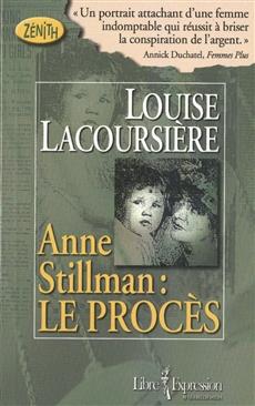 Anne Stillman, tome 1 - Le procès