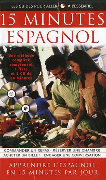 15 Minutes Espagnol - Coffret livre et CD