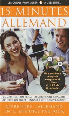 15 Minutes Allemand - Coffret livre et CD