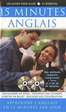 15 Minutes Anglais - Coffret livre et CD - Coffret livre + CD