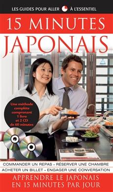 15 Minutes Japonais - Coffret livre et CD