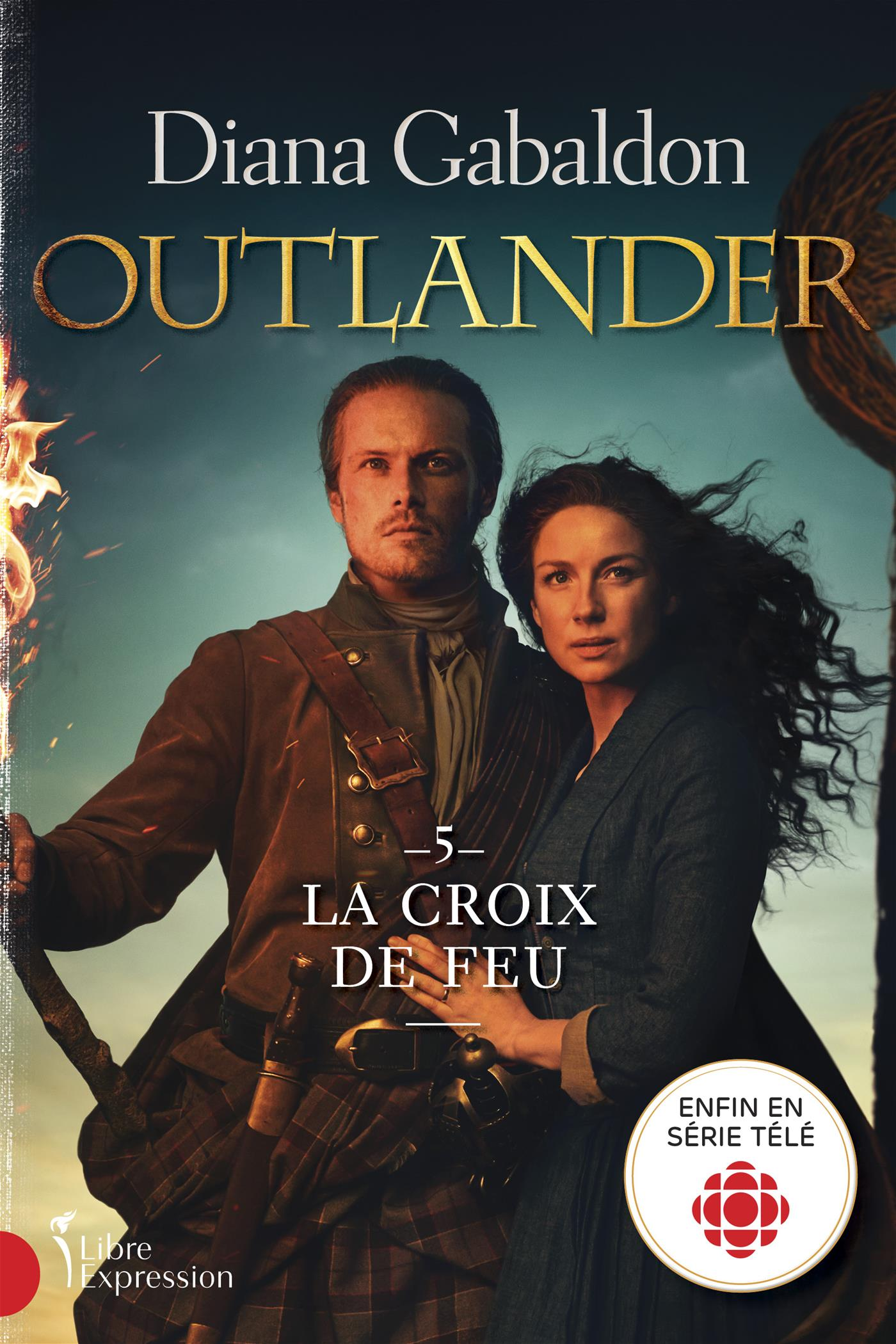 Cover image (Outlander, tome 5)
