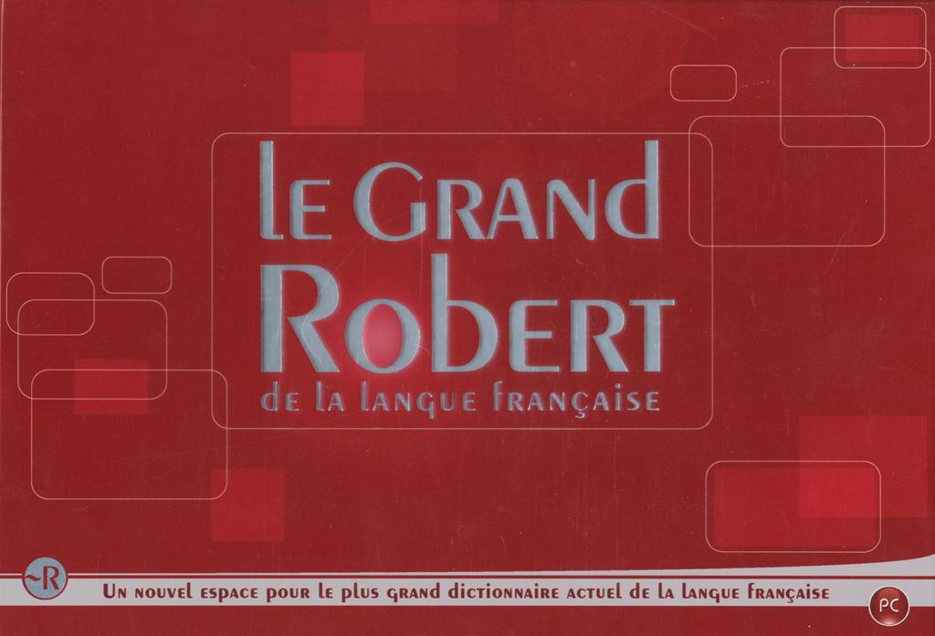 Livre le grand robert de la langue fran aise messageries adp - Office de la langue francaise dictionnaire ...