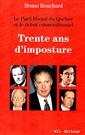 Trente ans d'imposture - Le Parti libéral du Québec et le débat constitutionnel