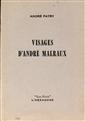 Visages d'André Malraux