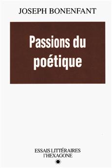 Passions du poétique