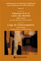 Anthologie de la littérature québécoise - Tome II - Volumes 3 et 4