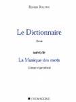 Le Dictionnaire - La Musique des mots