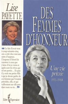 Des femmes d'honneur - Une vie privée 1931-1968