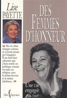 Des femmes d'honneur - Une vie engagée 1976-2000