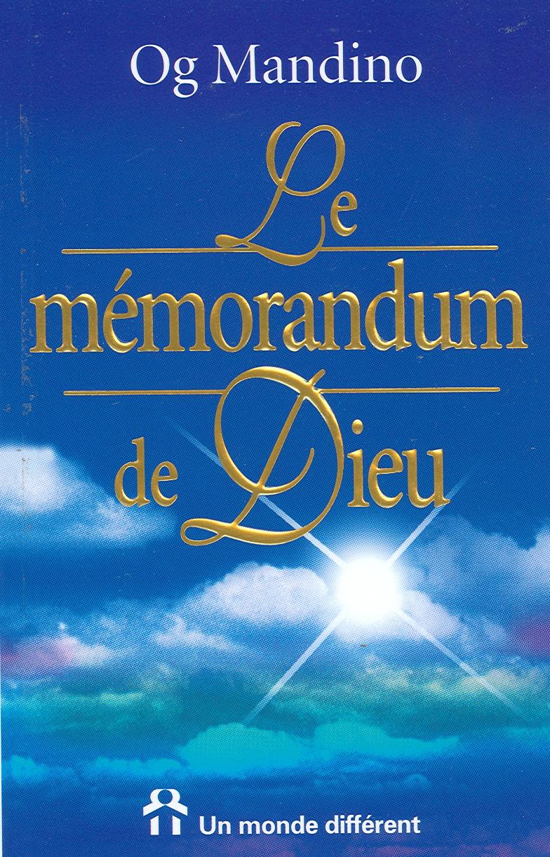 Livre Le M 233 Morandum De Dieu Messageries Adp