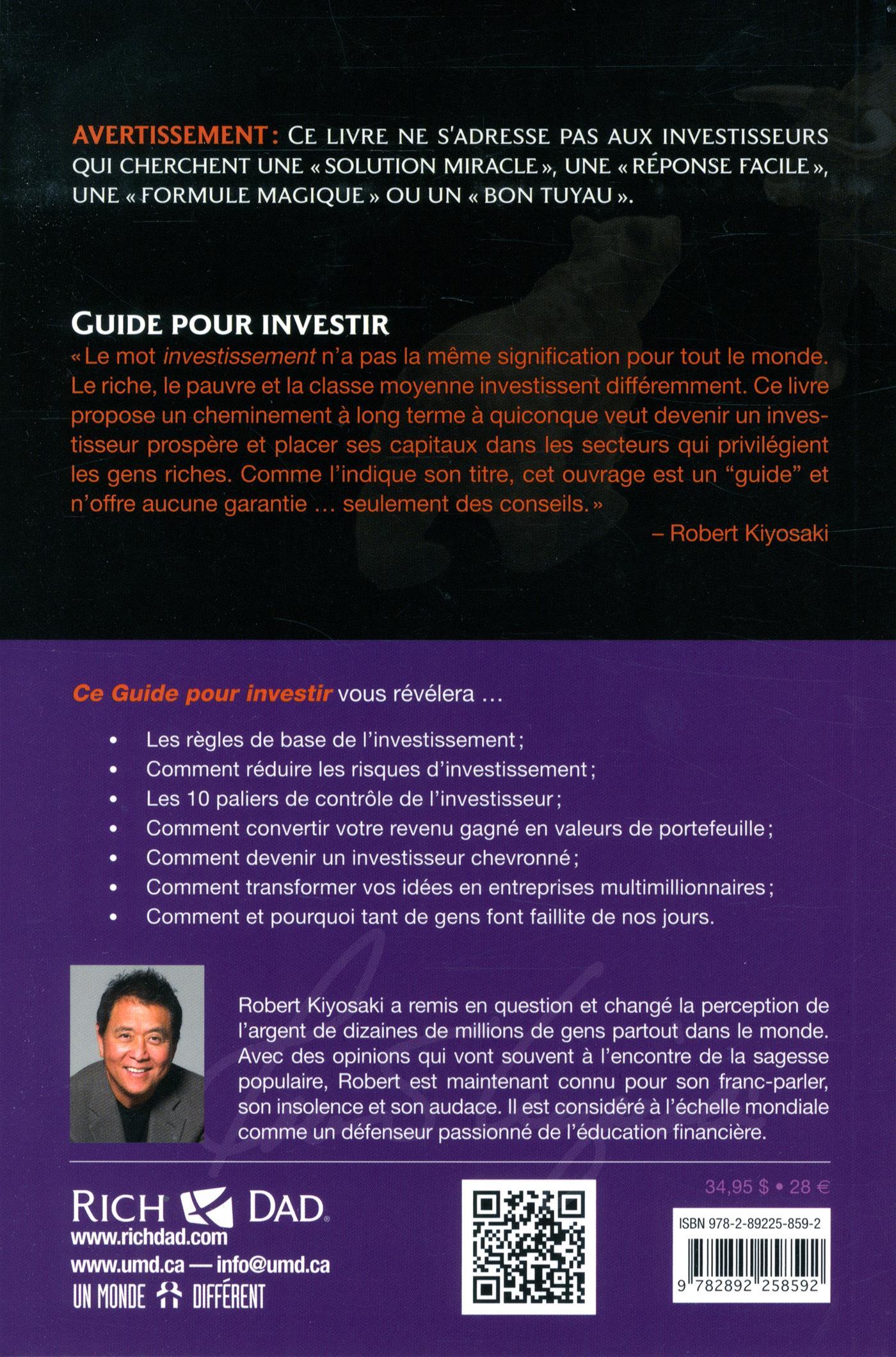 Livre Guide Pour Investir Messageries Adp