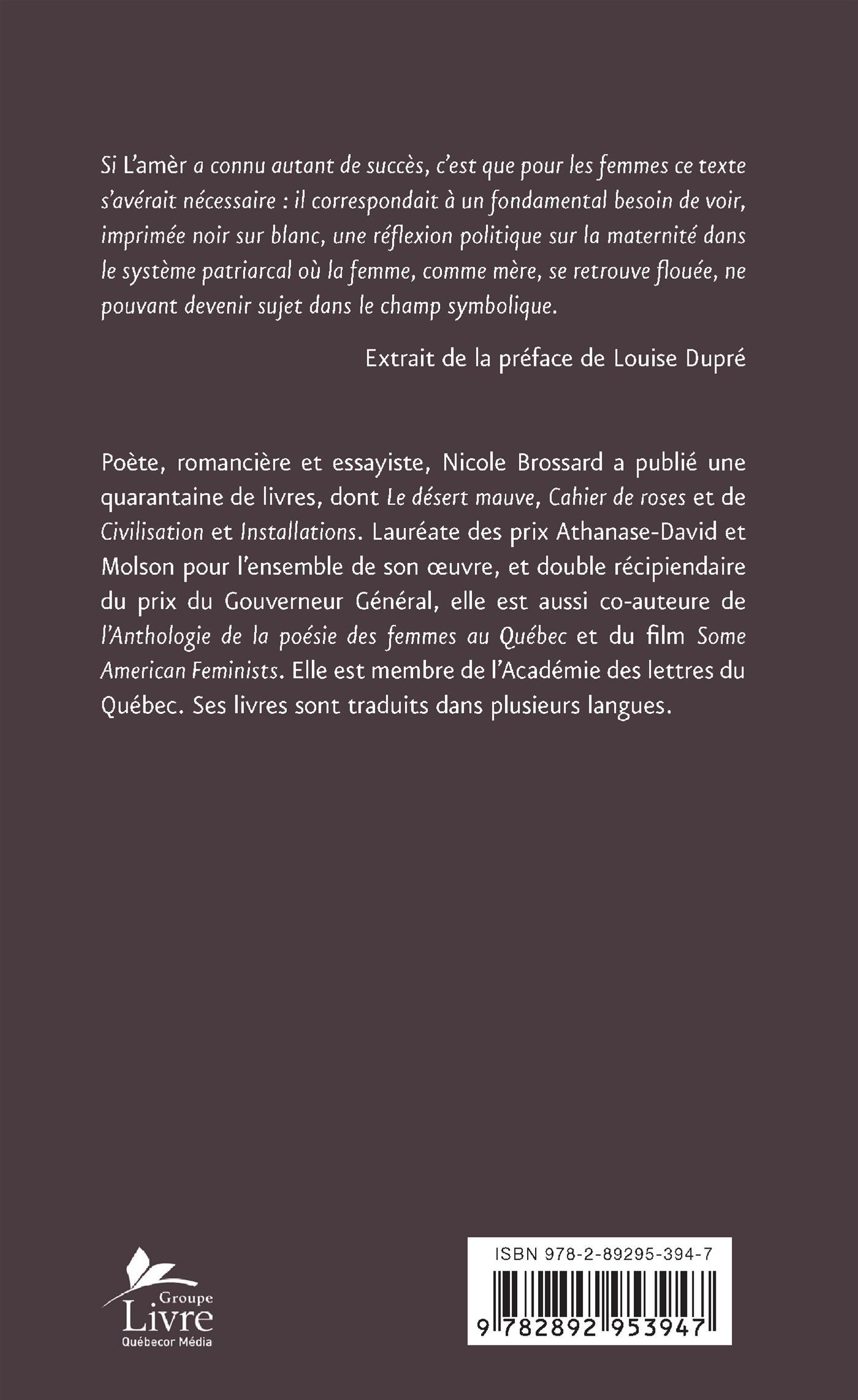Livre L Amer Ou Le Chapitre Effrite Messageries Adp