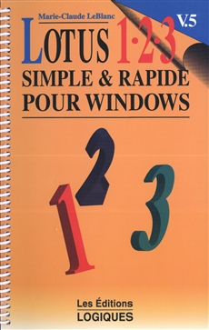 Lotus 1-2-3 - V. 5. simple et rapide pour Windows