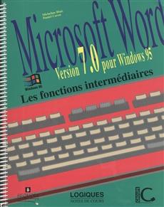 Microsoft Word - Version 7.0 pour Windows 95 - Les fonctions intermédiaires