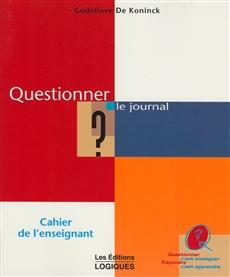 Questionner Le Journal -Maitre
