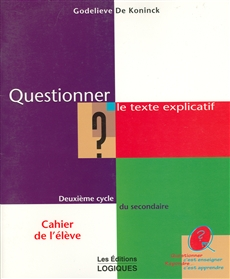 Quest. Texte Expl.2e Cycle Cah.eleve