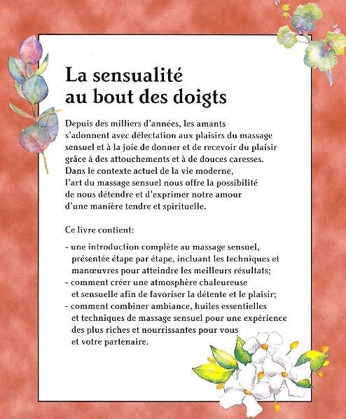 livre de massage sensuel Rank