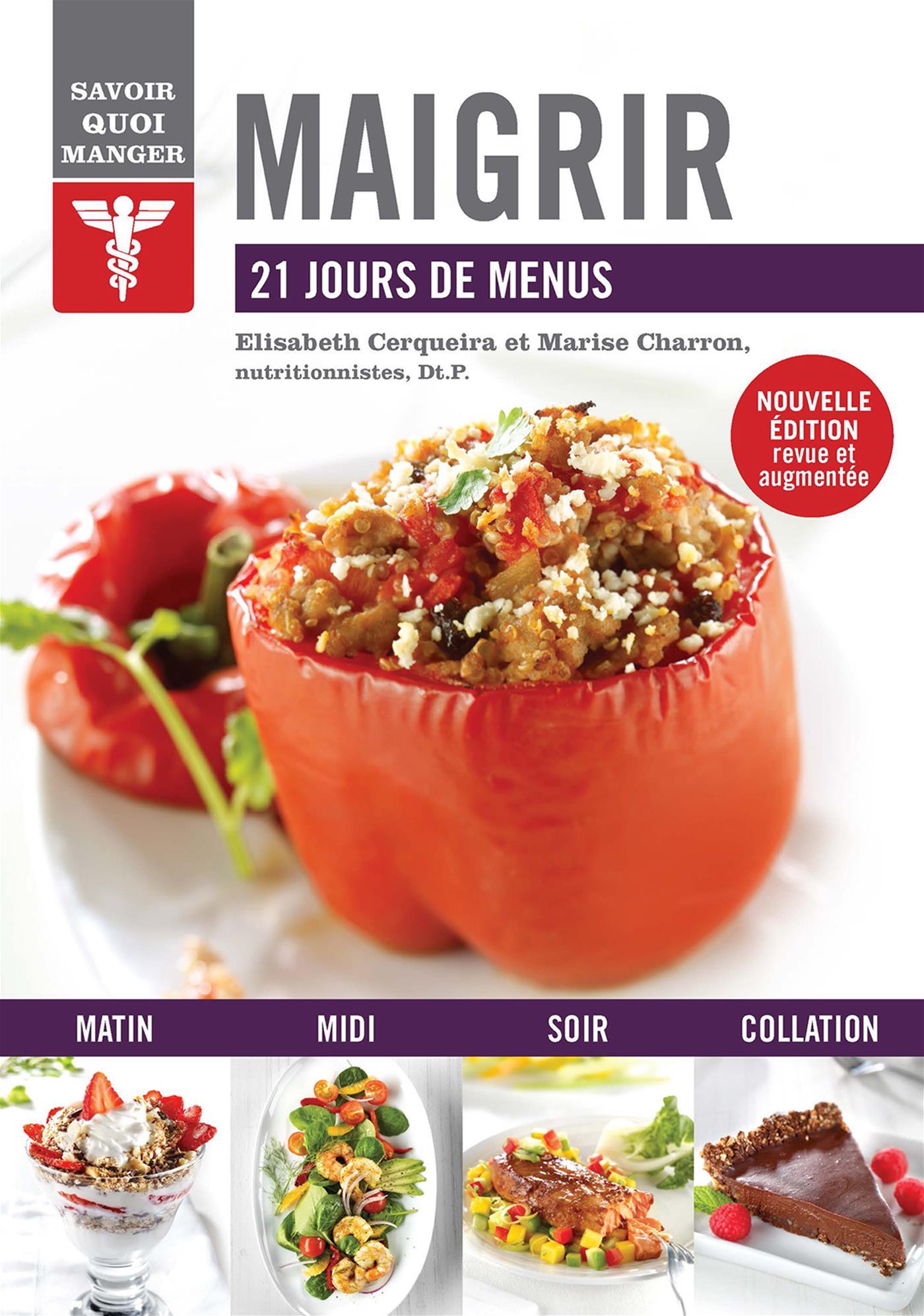 Livre Maigrir - 21 jours de menus | Messageries ADP