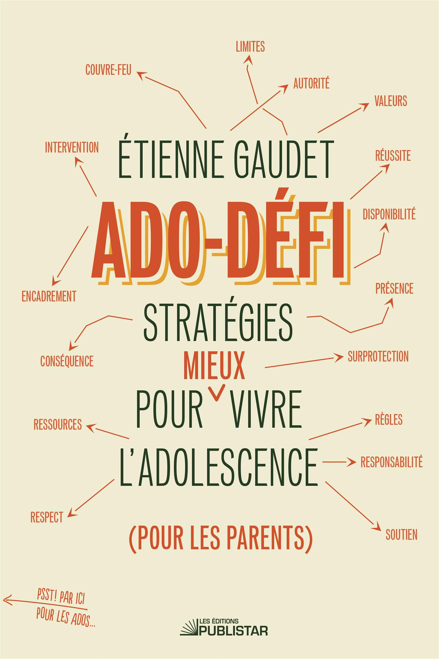 Livre Ado Defi Strategies Pour Mieux Vivre L Adolescence