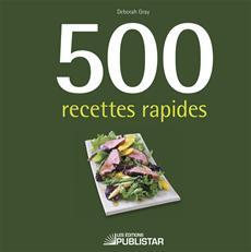 500 recettes rapides