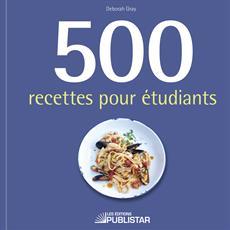500 recettes pour étudiants
