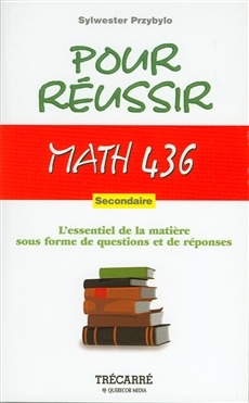 Math 436 - Secondaire
