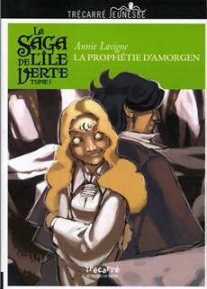 La Saga de l'île Verte - Tome 1 - La Prophétie d'Amorgen