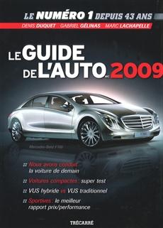 Le Guide de l'auto 2009