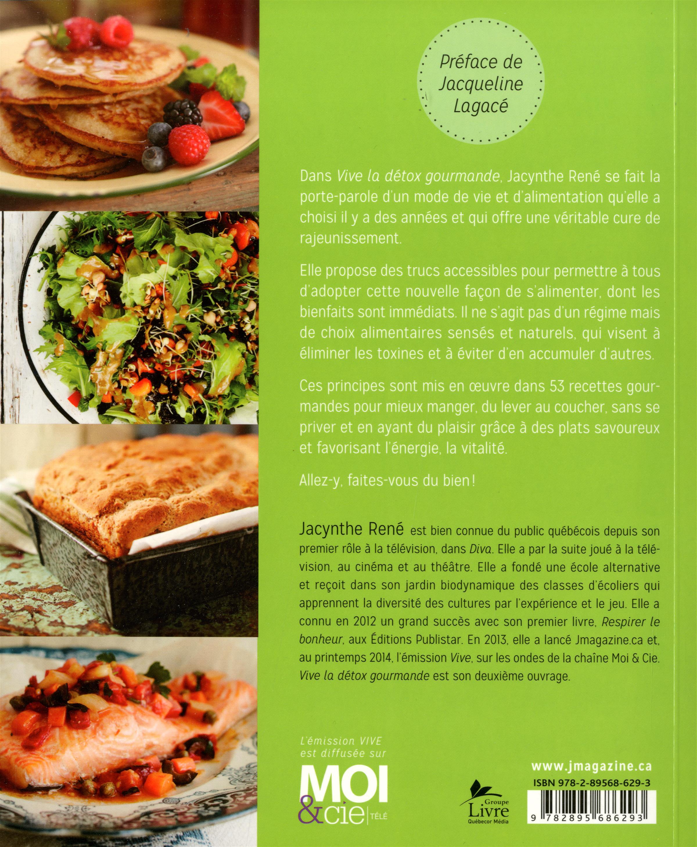 Livre vive la d tox gourmande messageries adp for Livre cuisine detox