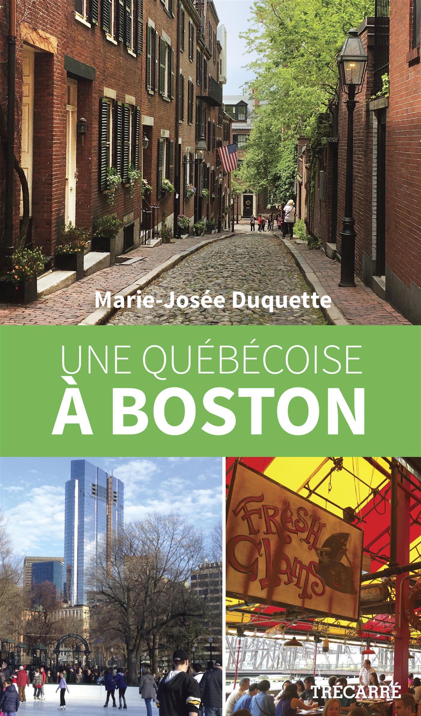 Image de couverture (Une Québécoise à Boston)