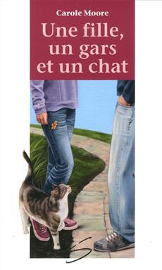 livre une fille un gars et un chat n 44 messageries adp. Black Bedroom Furniture Sets. Home Design Ideas
