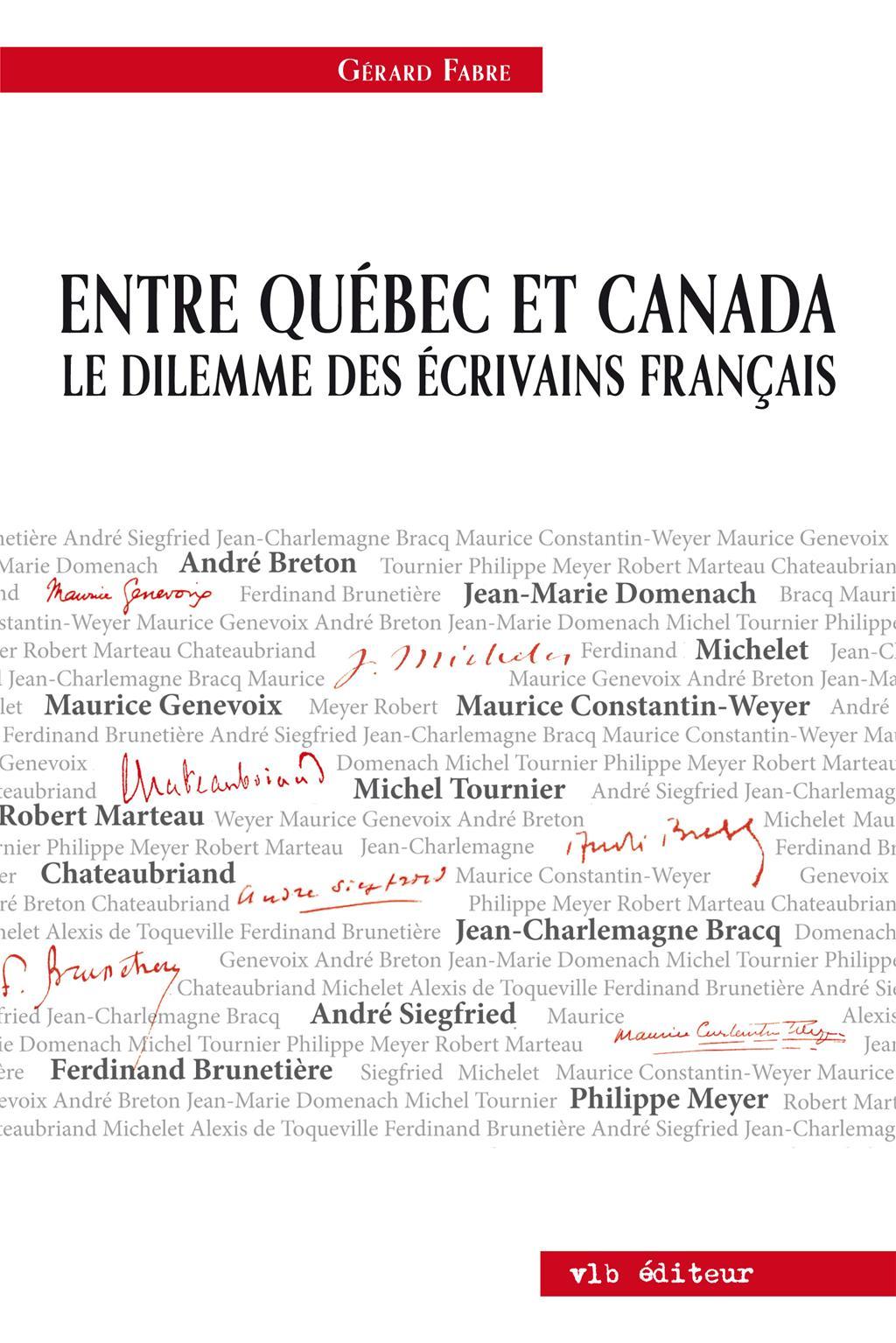 Entre Québec et Canada