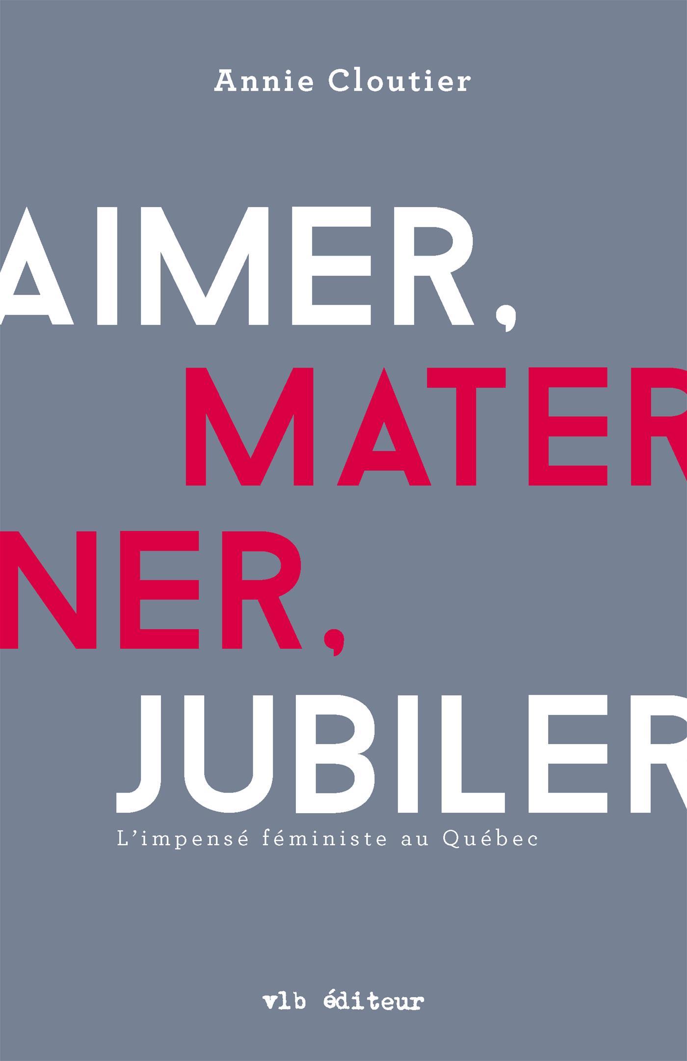 Aimer, materner, jubiler